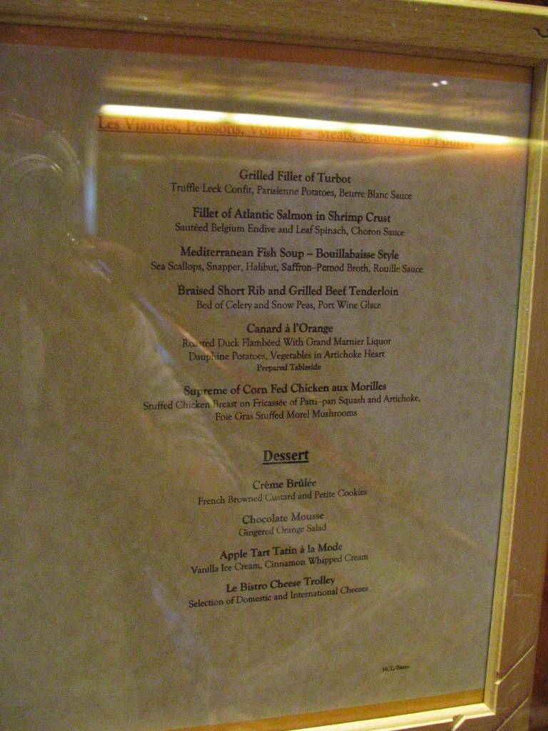 Cafe Adagio Menu